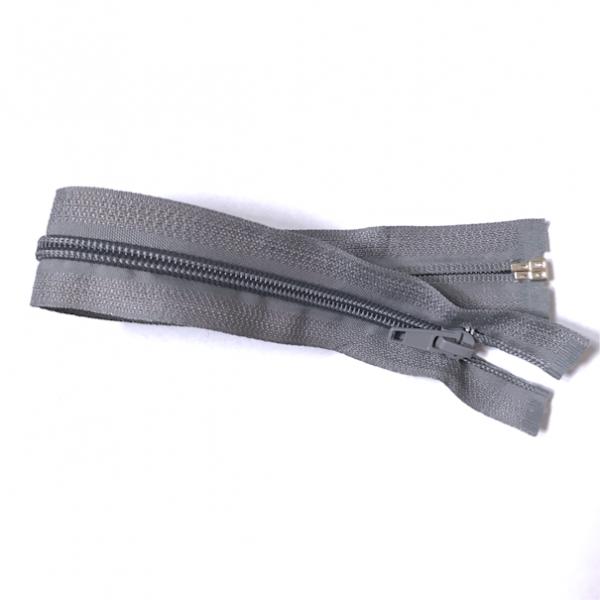 teilbarer Reißverschluss, ca.30cm, grau